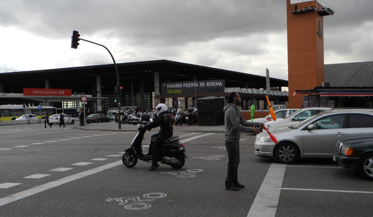 Moto y congestión urbana