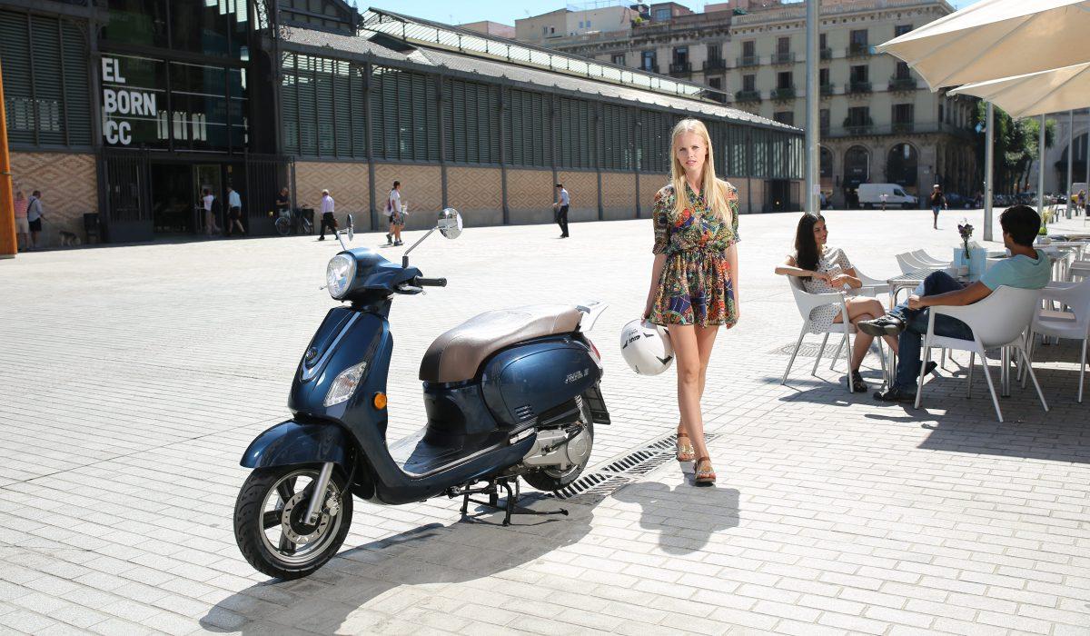 Las motos de alquiler también son para el verano