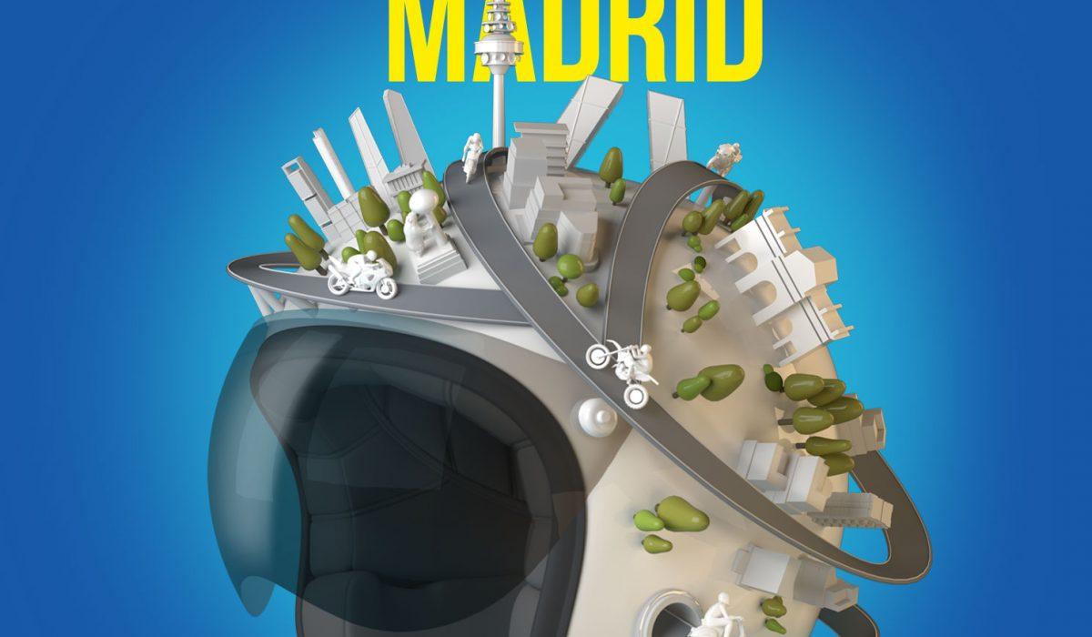 La moto, la gran protagonista en Madrid