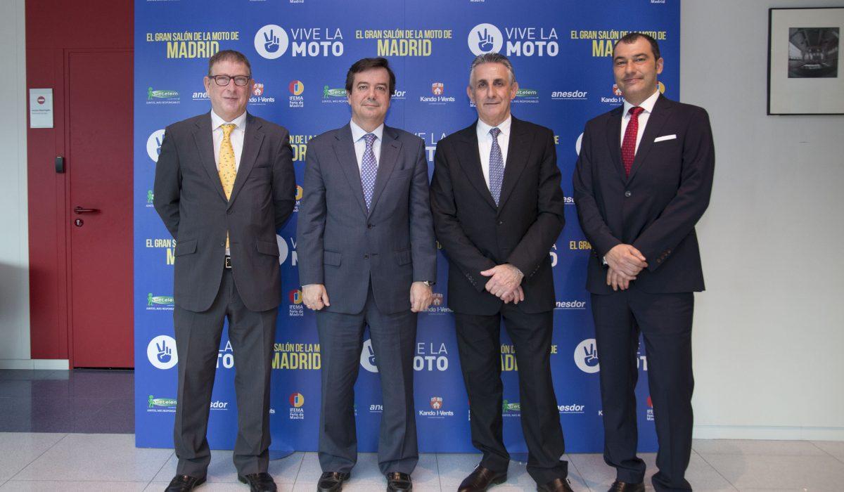 Madrid vuelve a vibrar con el mayor acontecimiento del sector de las dos ruedas: Vive la Moto, el Gran Salón de la Moto de Madrid