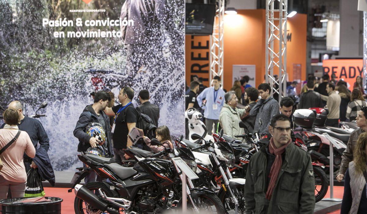 Las motos inician el warm up para su regreso a Barcelona con el salón Vive la Moto