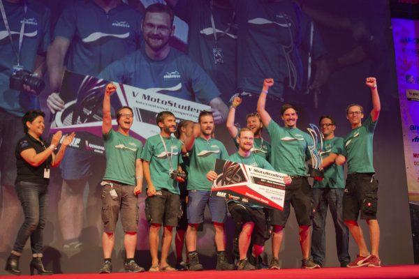 ANESDOR premia la mejor innovación tecnológica en la  V Competición Internacional MotoStudent