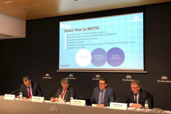 Barcelona se prepara para el mayor evento del sector de las dos ruedas: el Salón Vive la Moto promovido por ANESDOR