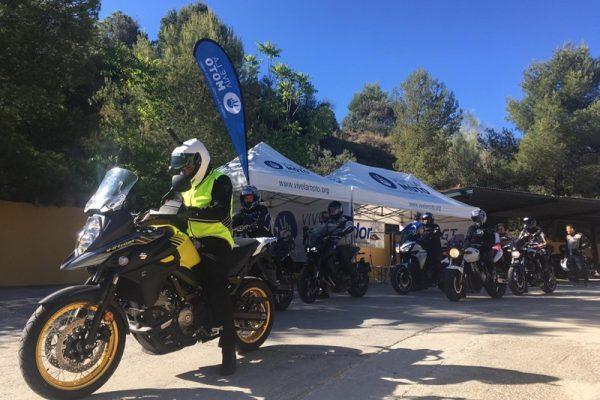 Decenas de motoristas malagueños participan en la Formación 360 de ANESDOR