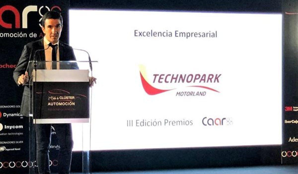 TechnoPark y su iniciativa MotoStudent reciben el Premio a la Excelencia Empresarial