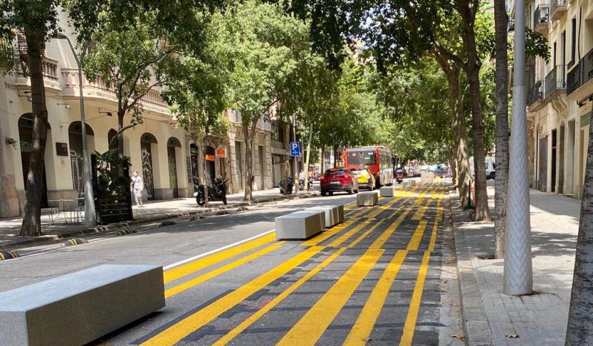 ANESDOR valora positivamente que el Ayuntamiento de Barcelona retire los bloques de hormigón de las calles, pero pide que se haga cuanto antes y se trabaje para mejorar la seguridad vial de los usuarios vulnerables